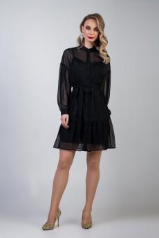 Платье 632 черный Marika