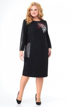 Платье  999 черный MichelStyle