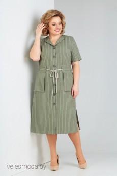 Платье 784 зеленый Milora