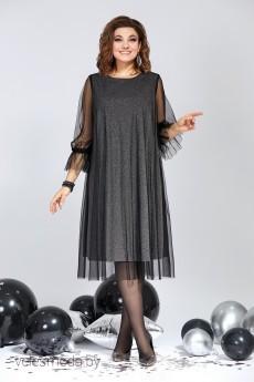 Платье 834 черный Milora