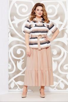 Костюм с юбкой 4917 Mira Fashion