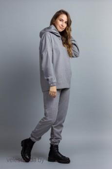 Спортивный костюм 695 серый Mirolia