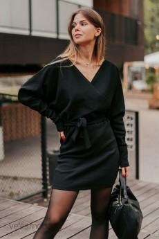 Платье 833 черный Mirolia