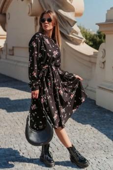 Платье 837 цветы Mirolia