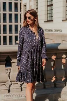 Платье 839 черничное Mirolia