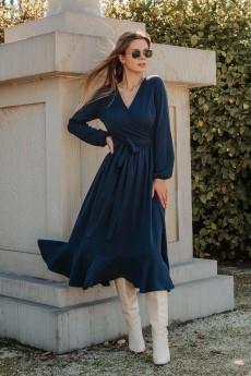Платье 869 синий Mirolia