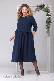 Платье 2031 синий Michel Chic