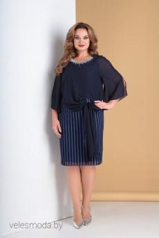 Платье 2101 василек Moda-Versal