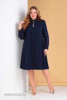 Платье 2212 темно-синий Moda-Versal
