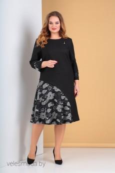 Платье 2239 черный Moda-Versal