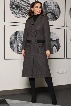 Костюм с юбкой 2511 серый-1 Мода-Юрс