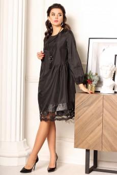 Платье 2638 черный Мода-Юрс