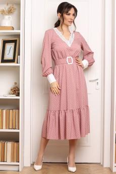 Платье 2664 пудра Мода-Юрс