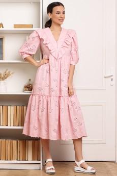 Платье 2671 розовый Мода-Юрс