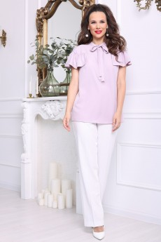 Блузка 2680 лиловый Мода-Юрс