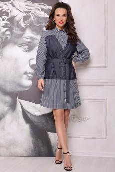 Платье 2697 джинс Мода-Юрс
