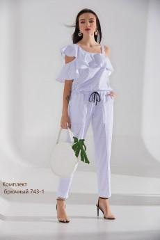 Костюм брючный 743-1 Niv Niv Fashion