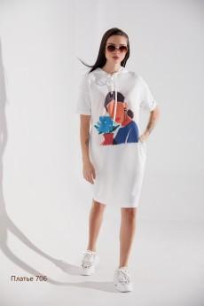 Платье 706 Niv Niv Fashion
