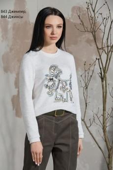 Джемпер 843 Niv Niv Fashion