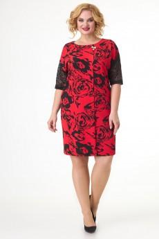 Платье 3765 черный Algranda (Новелла Шарм)