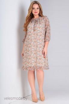 Платье 1522 бежевый OLLSY