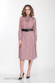 Платье 3681 пудра Olegran