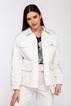 Куртка 3732-1 белый Olegran