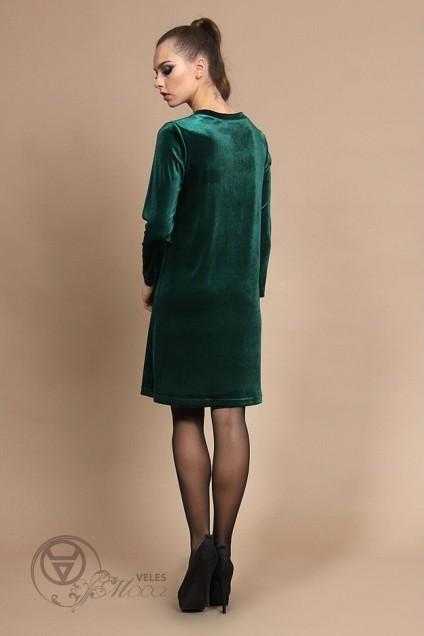 Платье 417 зеленый Olegran