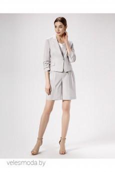 Пиджак 475030 серый Panda
