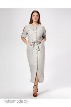 Платье 477280 серый Panda
