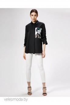 Блузка 478746 черный Panda