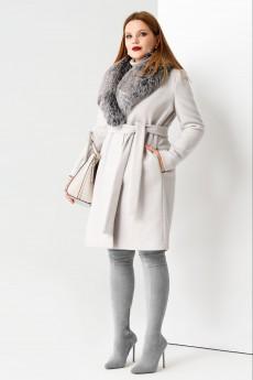 Пальто 51470 серый Panda