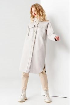 Пальто 53270 серый Panda