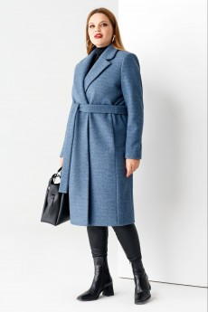 Пальто 61170 синий Panda