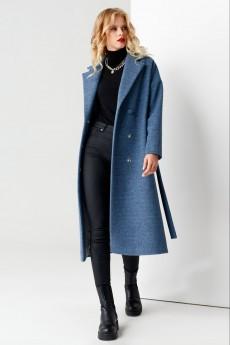 Пальто 61270 синий Panda