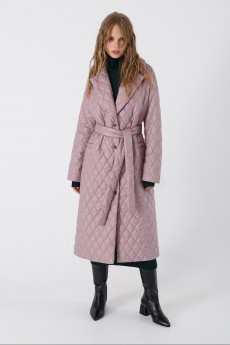 Пальто 3425 розовый Pirs