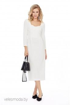 Платье 963 молочный Pirs