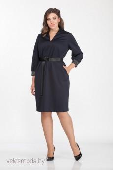 Платье 3804 синий Prestige