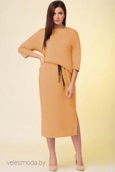 Платье 3857 бежевый Prestige