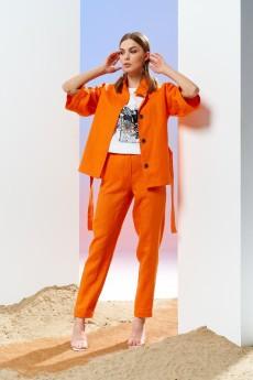 Жакет 4178 оранж Prestige