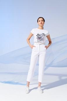 Блузка 4180 белый Prestige