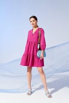Платье 4205 фуксия Prestige