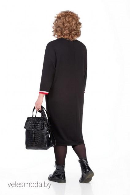 Платье 1000 черный Pretty