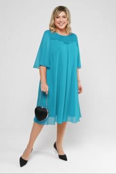 Платье 2046 морская волна Pretty