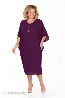 Платье 936 сливовый Pretty