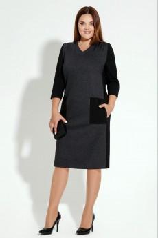 Платье 14380 темно-серый Prio