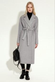 Пальто 18270 серый Prio