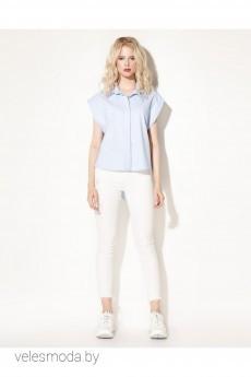 Блузка 703640 голубой Prio
