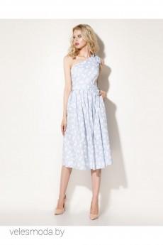 Платье 703780 бело-голубой Prio