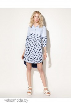 Платье 704080 сине-голубой Prio